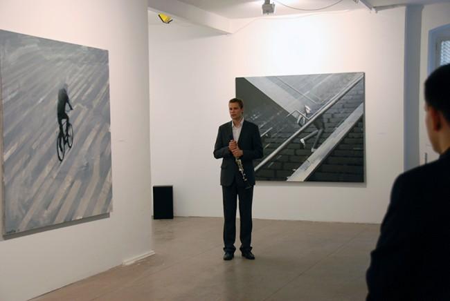 Ausstellung | Eigenprojekt- Initiierung / Ausstellung der lettischen Künstlerin Marite Guscika / 2010