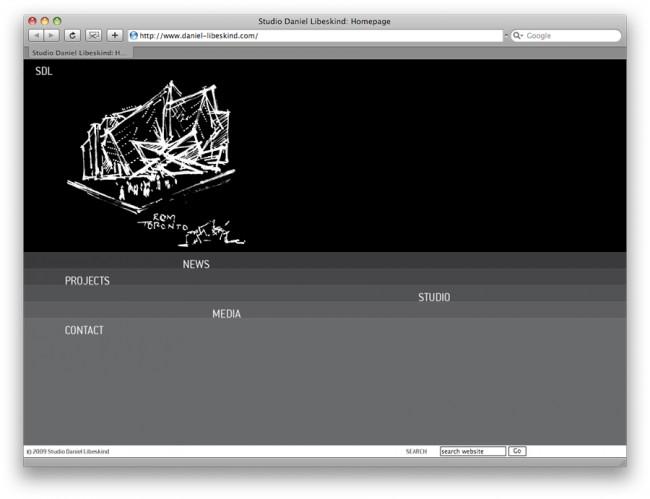 Daniel Libeskind Web