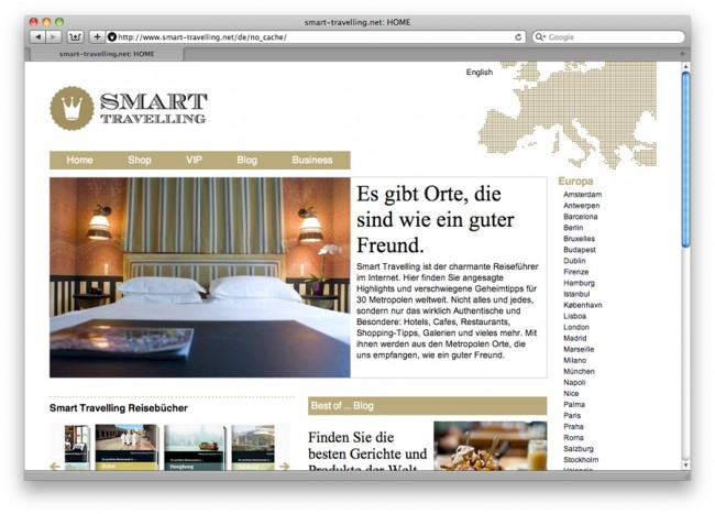 Smart Travelling Web