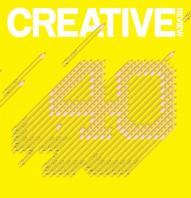 Cover für das Britische Creative Review Magazin, November 2002