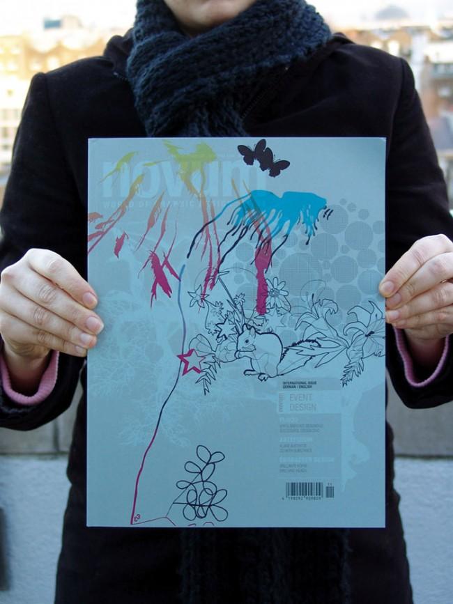 Cover für Novum magazin, in dem auch ein FL@33 profil erschien, November 2004