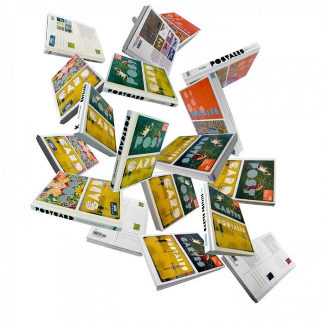 Postcard – ein Buch konzipiert, zusammengestellt, geschrieben und designt von FL@33 (Laurence King und intl Partnerverleger, 2008) http://postcard-book.info