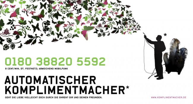 Komplimentmacher | Eigenprojekt- Initiierung / 2008