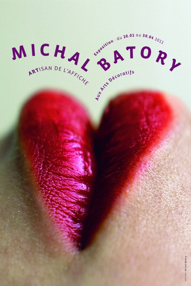 Affiche de l´exposition, Michal Batory, 2010