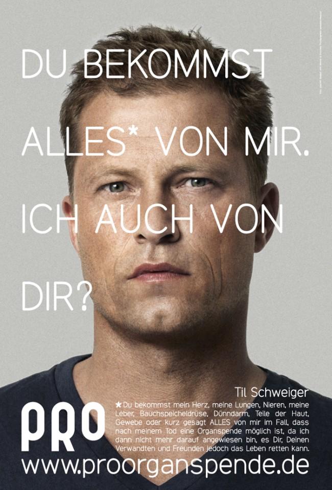 PRO |Im Auftrag der Stiftung ProGesellschaft und mit Hilfe unserer wunderbaren Partner realisieren wir seit Ende 2009 unsere größte soziale Kampagne mit dem Ziel, die Organspendebereitschaft in Deutschland zu erhöhen.