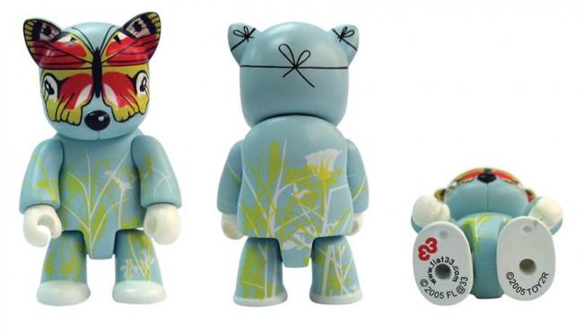 Mr Papillon – eines von 20 Wettbewerbsgewinnern (Groesse: 5cm), Toy2R, Hong Kong, 2005