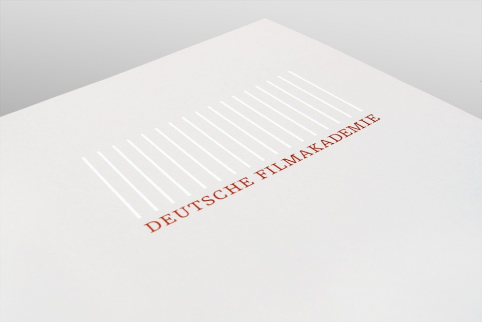 Deutsche Filmakademie Briefpapier
