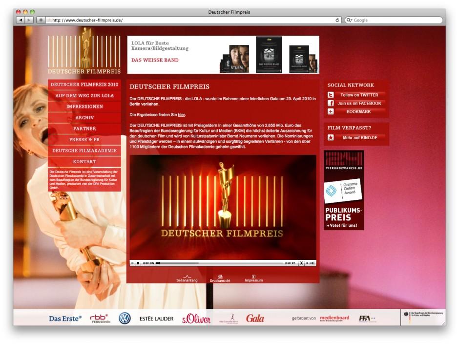Filmpreis Web