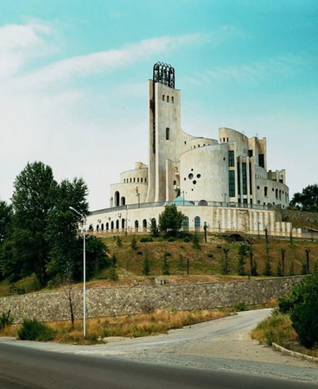 Zeremonienpalast (R. Dschorbenadse, W. Orbeladse) Tiflis, Georgien, 1985