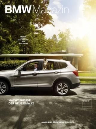 Das BMW Magazin können sich Auto-Fans auch auf dem iPad anschauen.
