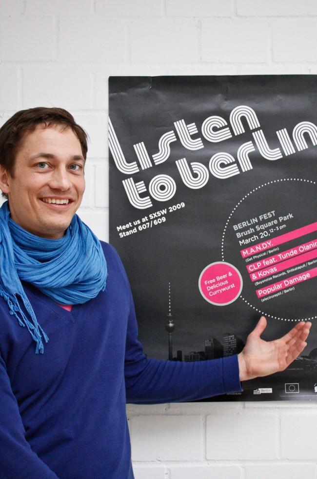 Berlin Music Commission – Plakat