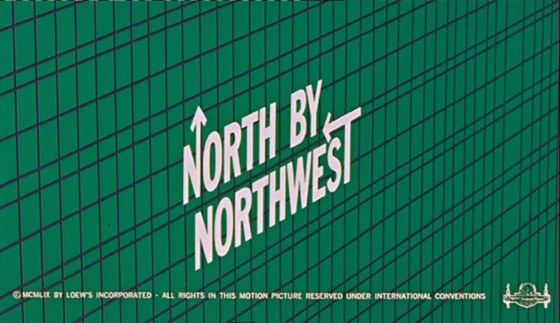Bewegte Schrift | Saul Bass, North by Northwest, Filmbild aus der Titelsequenz, 1959 © Metro-Goldwyn-Mayer