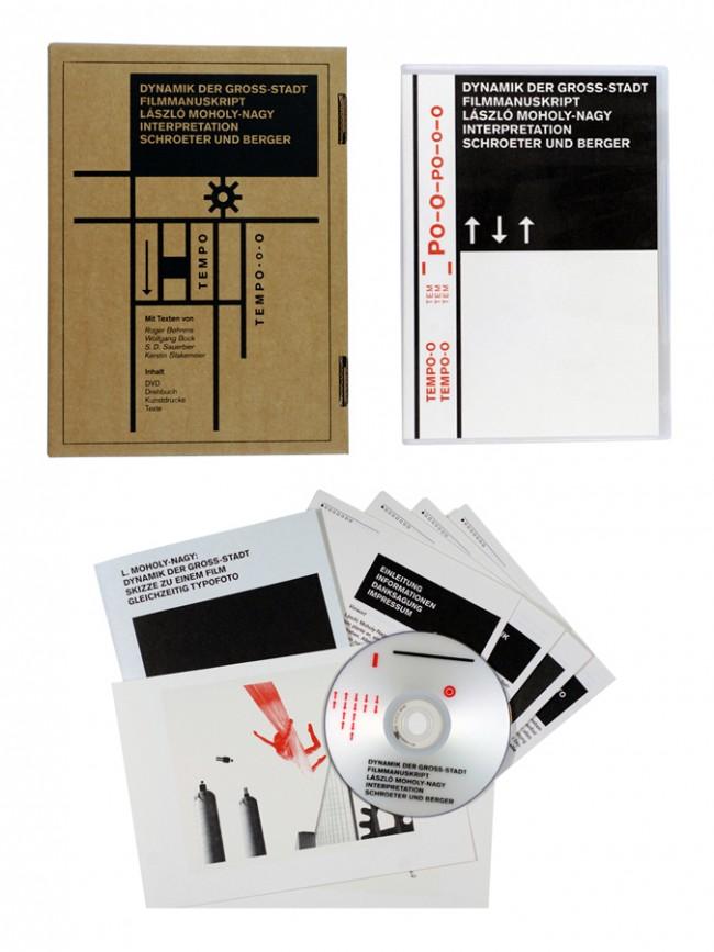 Dynamik der Gross-Stadt Edition   Format: A 5 +   Auflage: 350 Exx. nummeriert   DVD   Reprint Original-Drehbuch   5 Text-Faltblätter   2 x Kunstruck