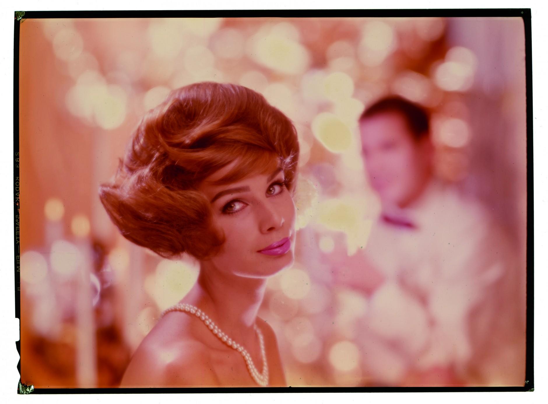Motiv für die Taft Haarspray Werbung in den 1960er Jahren. © F.C. Gundlach