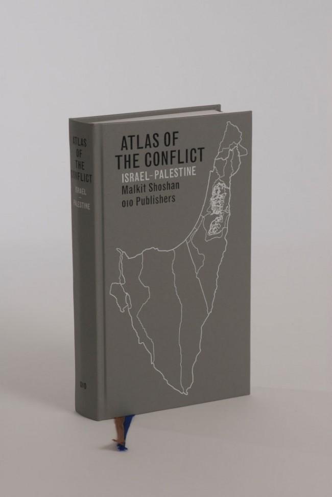 Goldene Letter: Atlas of the Conflict. Israel – Palestine, Malkit Shoshan; Verlag: 010 Publishers, Rotterdam; Gestaltung: Studio Joost Grootens
