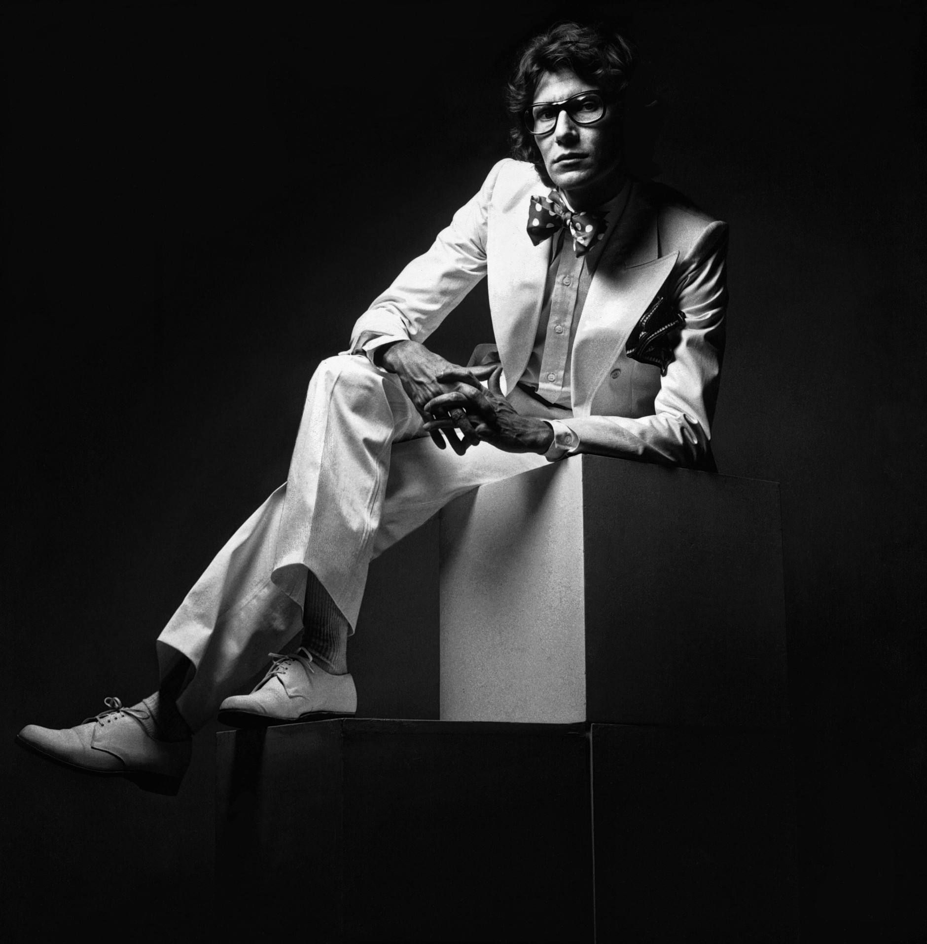 Jeanloup Sieff: Yves Saint Laurent, 1971. © The Estate of Jeanloup Sieff