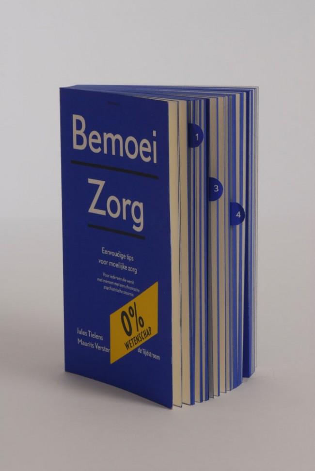 Silber-Medaille: Bemoeizorg, Jules Tielens Maurits Verster; Verlag: De Tijdstroom; Gestaltung: René Put
