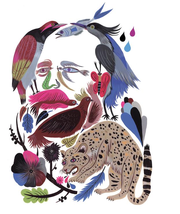 Porträt von Alfred Brehm (»Brehms Tierleben«) aus der Ausgabe 4/2009 von Caroline Löbbert