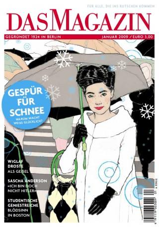 Tanja Székessy zeichnete viele Coverillus für »Das Magazin«