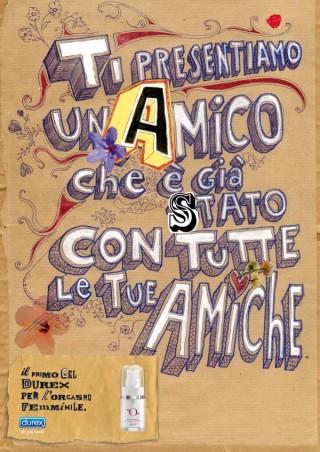 Italien - McCann-Erickson für Durex - Illustrator: H-57 Creative Station - September 2010