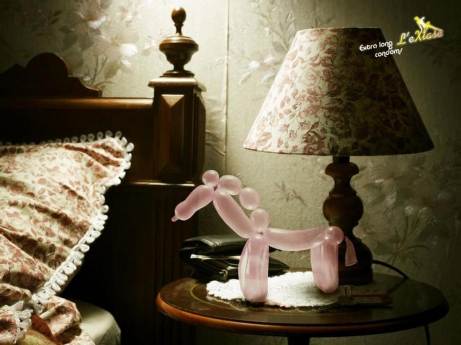 Belgien - Leo Burnett für L'extase Condoms - Fotograf & Postproduktion: Opération Panda - Februar 2011