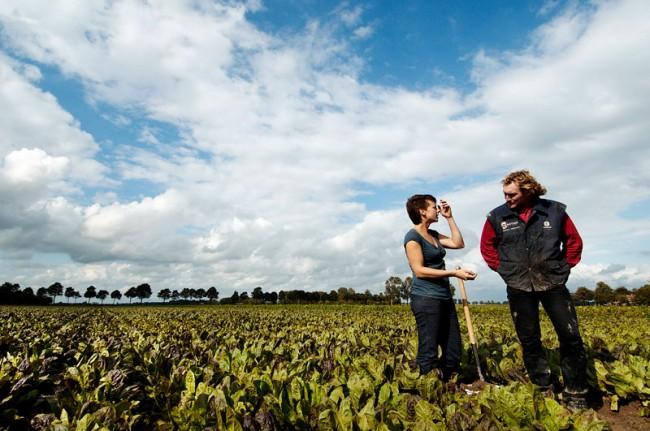 Designerin und Landwirt in Noordoostpolder © Paul Scala