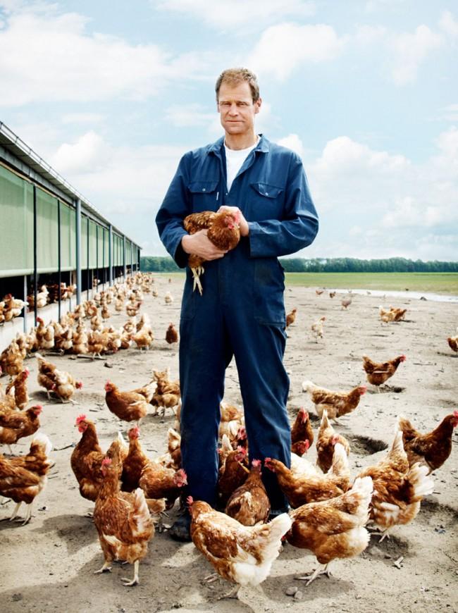 Starke Typen: Holländische Landwirte in Noordoostpolder © Paul Scala