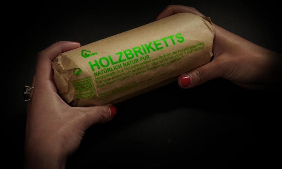 Holzbriketts Print