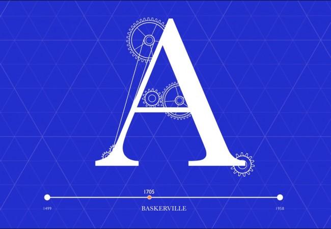 History of Typography von Jihwan Kim | © Jihwan Kim
