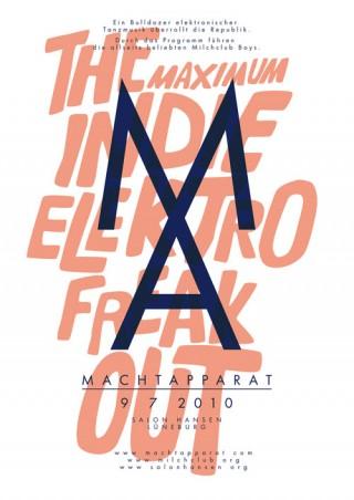 Titel: Machtapparat (1-3) | Gestalter: Falko Ohlmer | Auftraggeber/Kunde: Milchclub Boys DJ Team