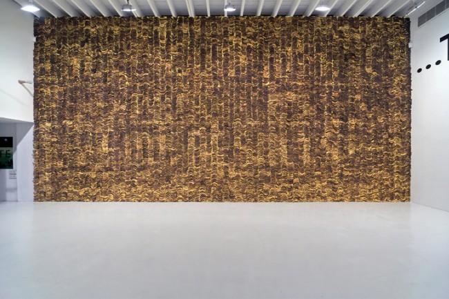 Stefan Sagmeister, »Banana Wall«, 2008 © Stefan Sagmeister