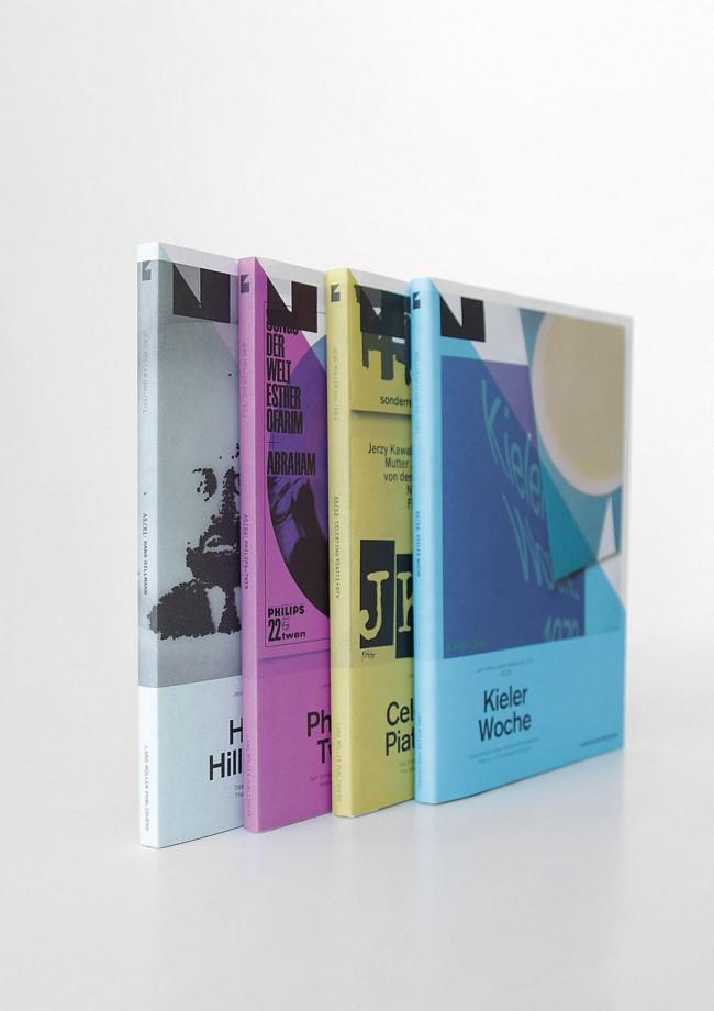 Buchreihe A5 Bände 1–4