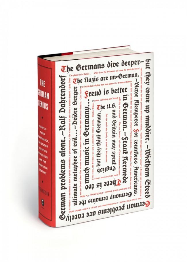 Mammutwerk: »German Genius« gestaltet von Christopher Sergio © Sagmeister.Inc