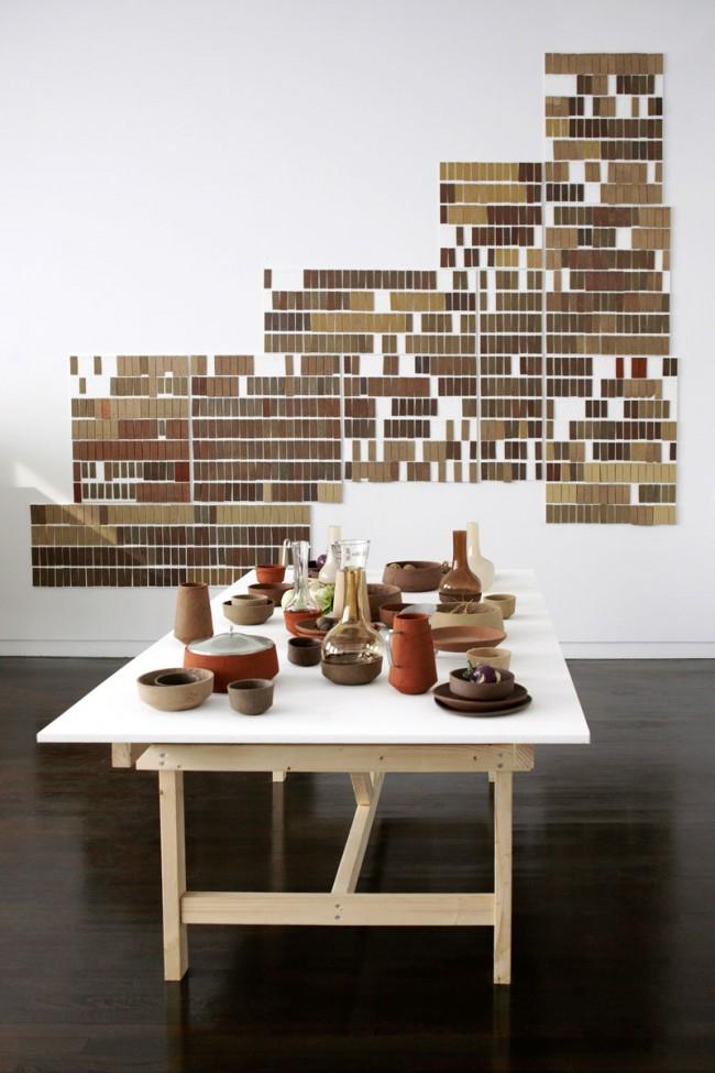 Dieses Geschirr lässt sich auf der Website der Royal Tichelaar Makkum bestellen  © Atelier NL