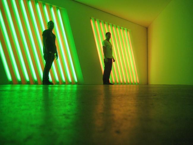 Erik Kiesewetter: Installation Galerie Opening