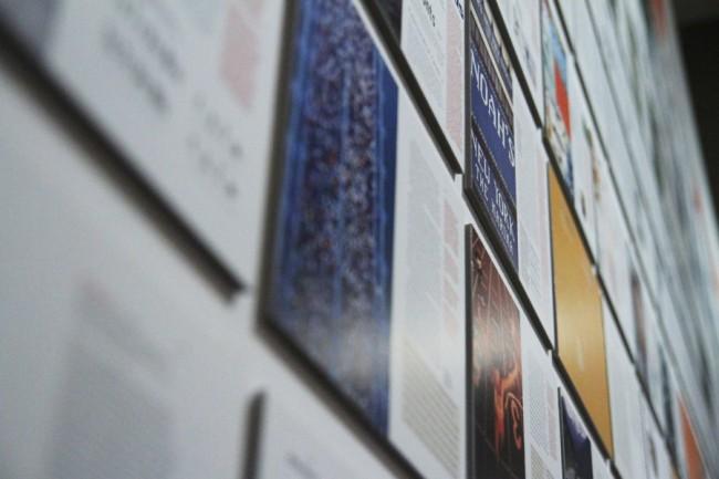 Details aus der Ausstellung »erik spiekermann. schriftgestalten« im Bauhaus-Archiv/Museum für Gestaltunga   © Erik Spiekermann