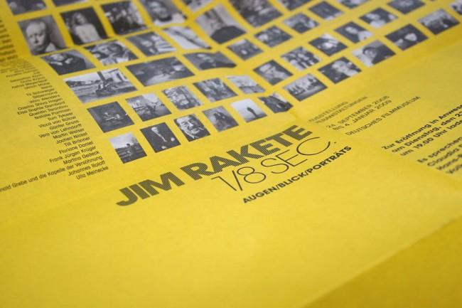 Einladungskarte Jim Rakete im Deutschen Filmmuseum