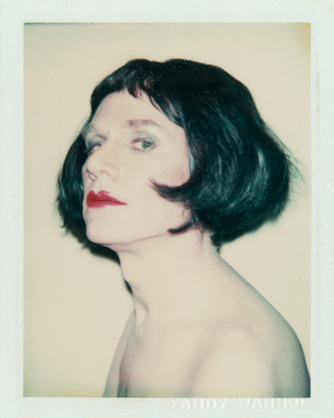 Andy Warhol | Self-Portrait in Drag, 1981. Foto: Christoph Irrgang, Hamburg © 2011 The Andy Warhol Foundation for the Visual Arts, Inc. / Artists Rights Society (ARS), New York Hamburger Kunsthalle