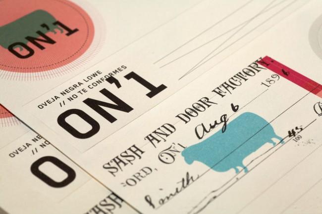 Corporate Identity für Oveja Negro Lowe von Blokdesign | © Blokdesign