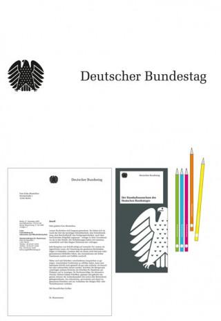 Die visuelle Identität des deutschen Bundestages von Büro Uebele, Stuttgart
