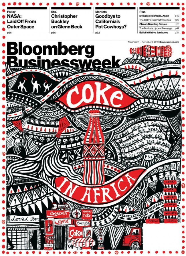 Bloomberg Cover, Creative Director Richard Turley | © Emily Anton