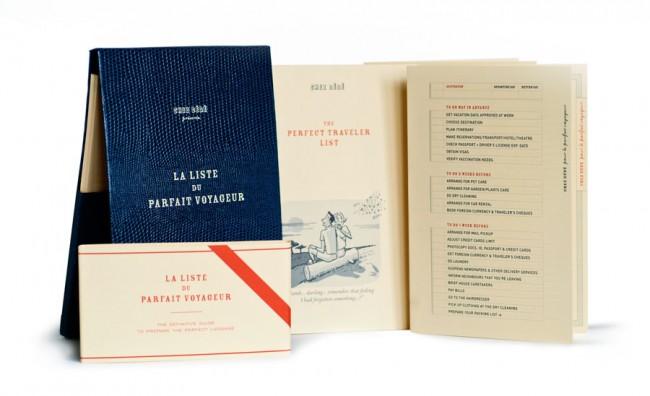 La Liste du parfait voyageur von Andrea Ferolla und Daria Reina | © Ferolla Reina