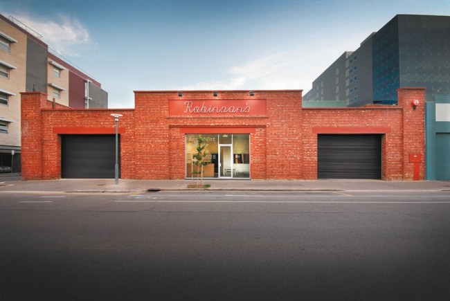 CI für Autowerkstatt von Matthew Remphrey © Parallax Design Pty Ltd/