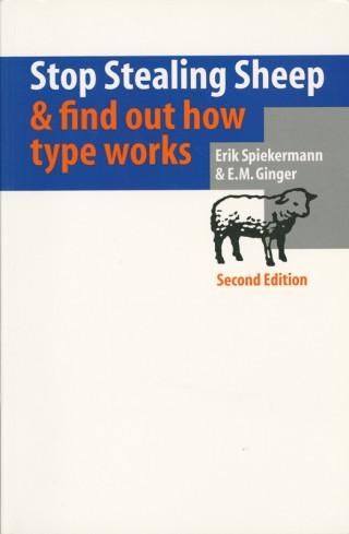 Veröffentlichung   Buchcover »Stop Stealing Sheep & find out how type works«  © Erik Spiekermann
