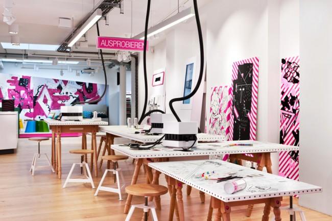 4010 Telekom Shop Köln - PARAT für Mutabor, 2011   Foto: Mareen Fischinger