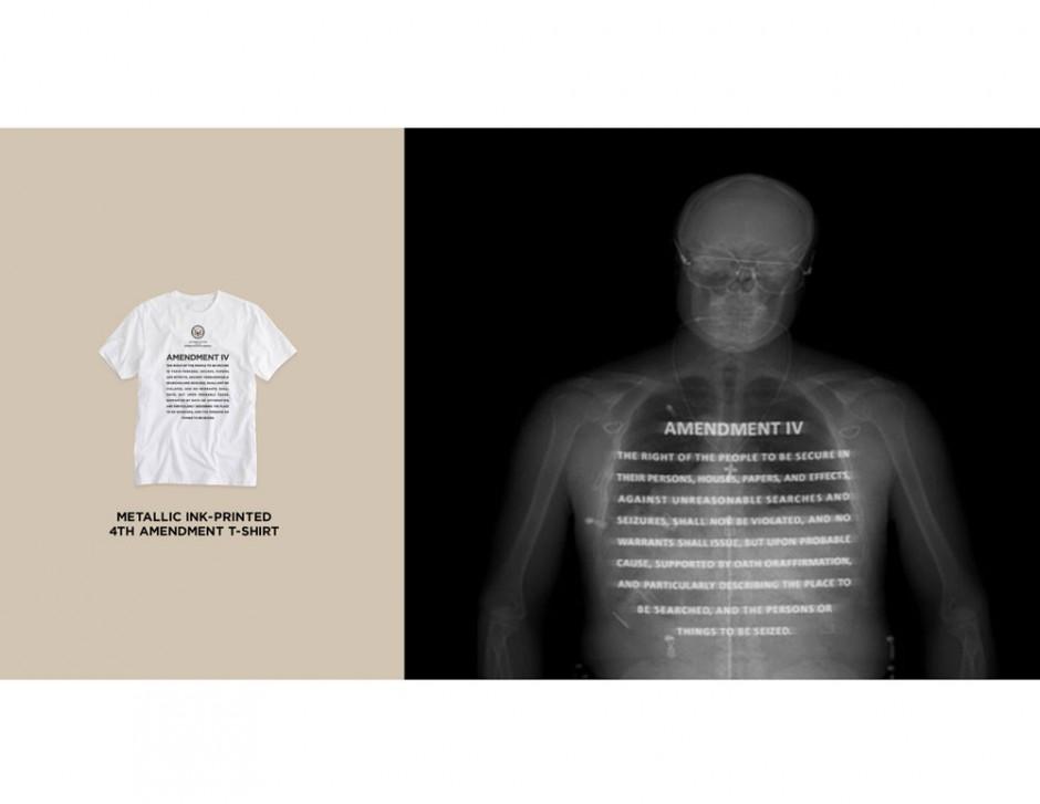 4th Amendment Wear: Designism Award