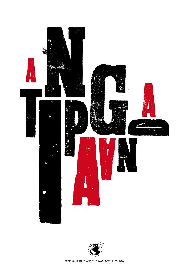 Antipaganda   Plakat A2