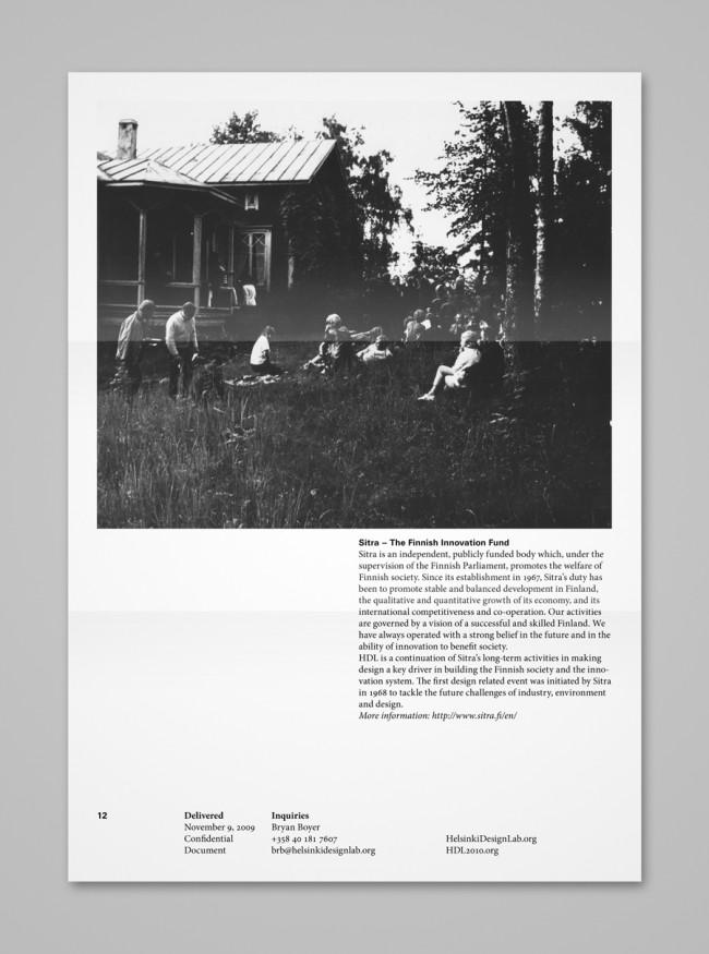 Visual Identity »Helsinki Deisgn Lab« | © TwoPoints.Net