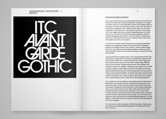 Editorial Project »I Love Avant Garde« | © TwoPoints.Net
