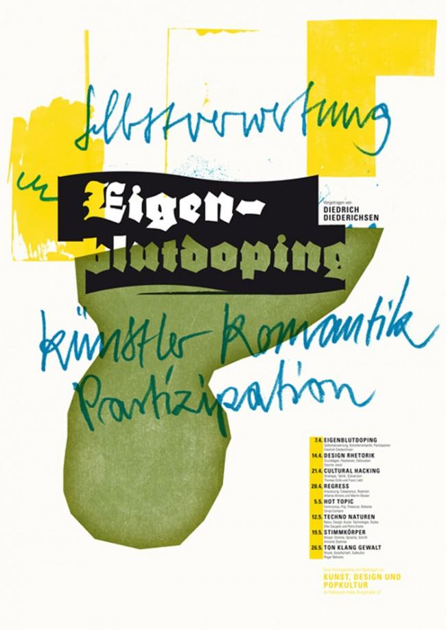 »Typographische Anschläge« von Ronny Schrödter | © Ronny Schrödter